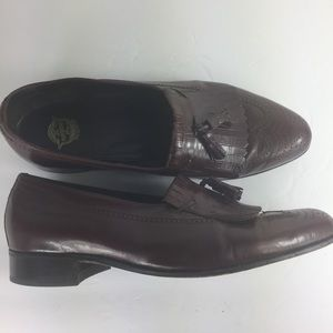 Florsheim Burgundy Wingtip Tassel Dressy Shoes